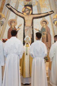 Žehnání kostela Panny Marie Lasalettské, Považská Bystrica